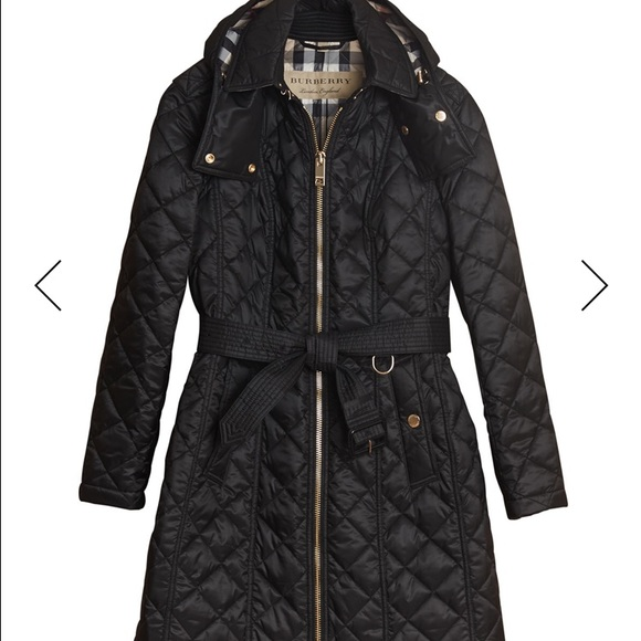 67a36a89ef3e NWT Burberry Baughton 18 Quilted Coat